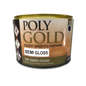 PolyGold Polyurethane Timber Floor Sealer Semi Gloss