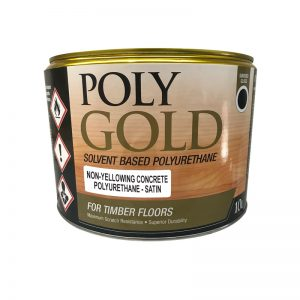 Polygold Polyurethane Non Yellowing Timber and Concrete Sealer Satin