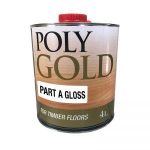 PolyGold Polyurethane Part A Timber Floor Sealer